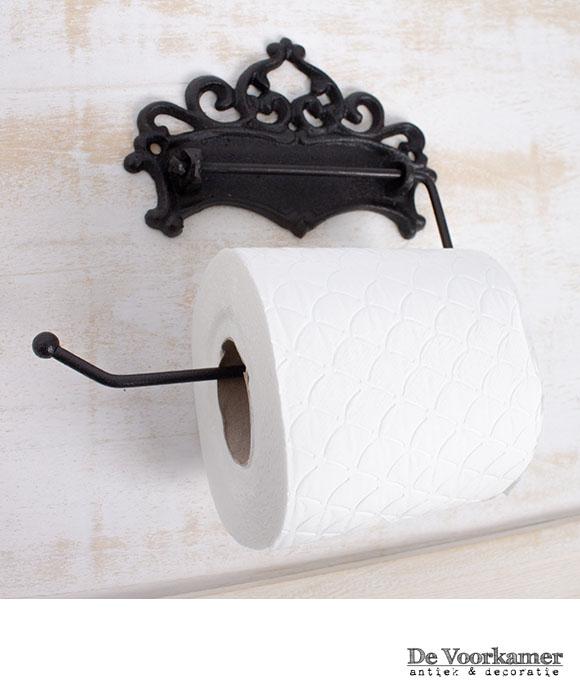 Wc Rolhouder Zwart.Toiletrolhouder Zwart